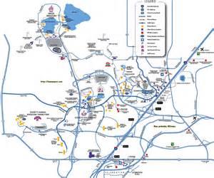 Disney World Transportation Map by Pics Photos Disney Property Map