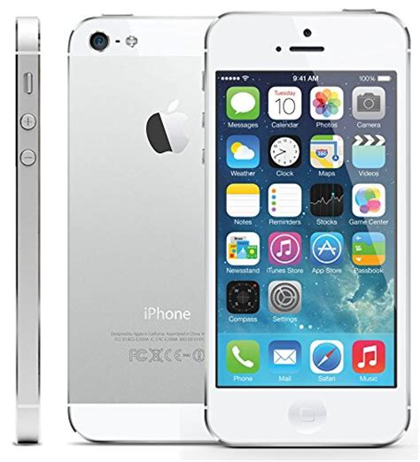 Iphone 5 16 Gb New Bnob new aio apple iphone 5 a1429 16gb smartphone white property room