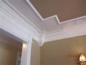 Coffered Ceiling Vs Tray Ceiling Design Tray Coffered Ceiling Into Header Cased