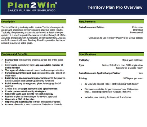 writing a business plan for a sales territory 187 australian