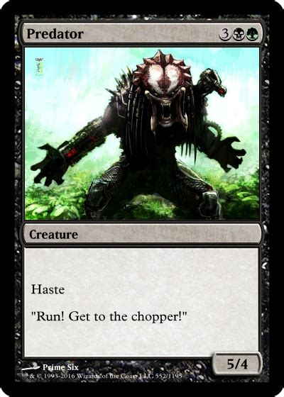 custom made cards magic the gathering custom card creations prime six blogs