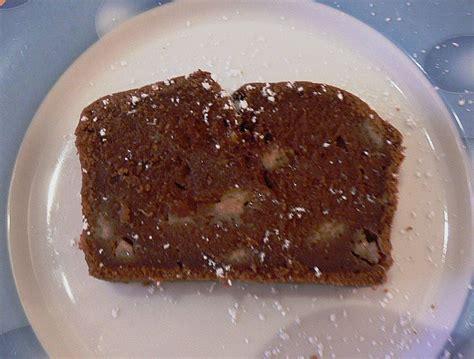 kuchen schokolade schokolade bananen kuchen rezept mit bild chefkoch de
