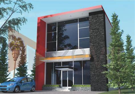 desain rumah idaman 2 lantai image gallery model ruko