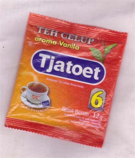 tjatoet teh celup aroma vanila 12 gram black tea with