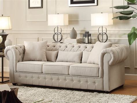 chadwick sofa ethan allen lincoln ave living room homelegance savonburg three piece sofa set in polyester