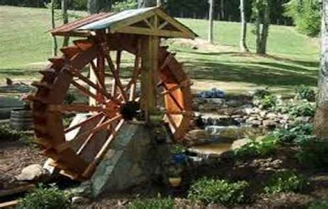 waterwheel electric generator low cost electricity multi