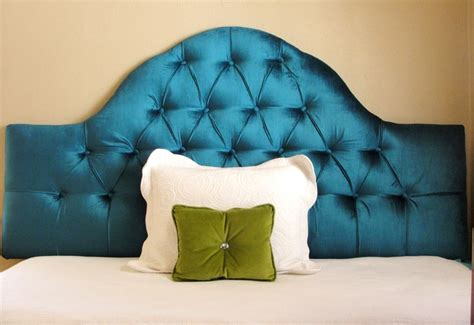 blue velvet headboard peacock blue velvet tufted headboard for the home