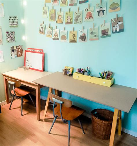 Desk Ideas For Kids Rooms Diy Kid Desk