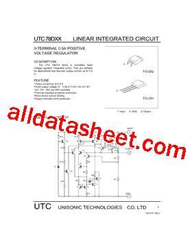 Kec Kia324p utc78d 데이터시트 pdf unisonic technologies
