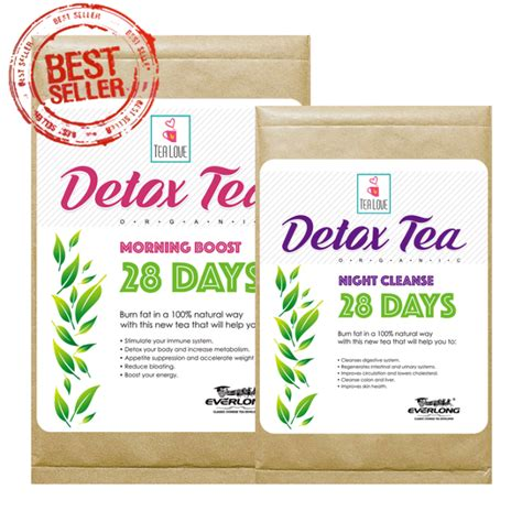 Best Detox Tea by Best Organic Herbal Detox Tea 28 Day Detox