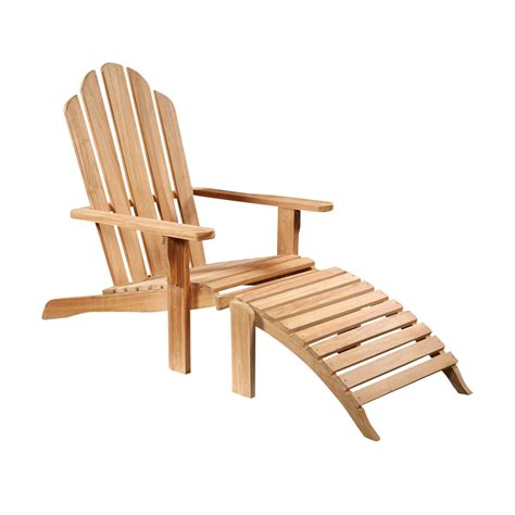 Wood Outdoor Lounge Chairs by Teak Wood Outdoor Lounge Chair Chairish