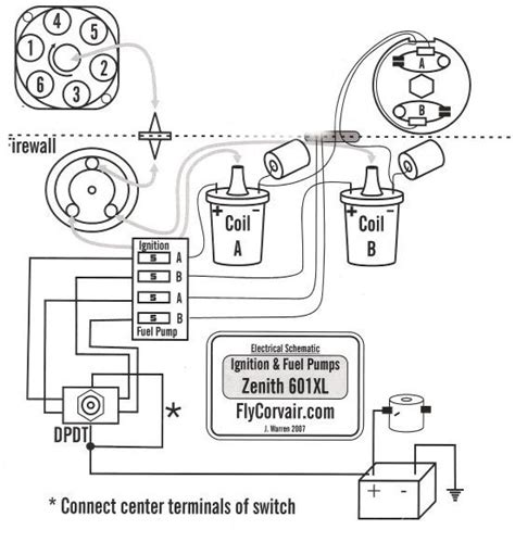 accel dual point distributor wiring diagram dual