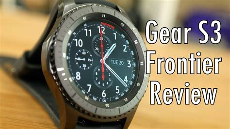 samsung gear s3 frontier review the smartwatch frontier pocketnow