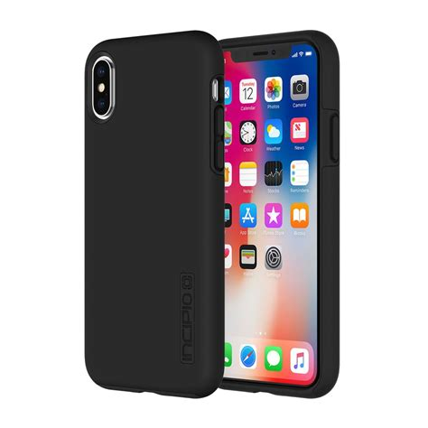 Casing Black incipio dualpro for iphone x black iphone cases