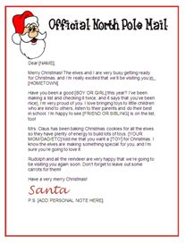 free printable letter from santa claus uk download christmas letter templates