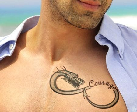 infinity tattoo for men 60 most popular infinity tattoos golfian