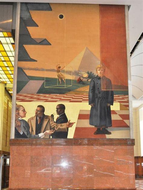 bank  america paintings art mural mural world