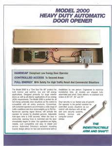 Automatic Door Systems Nj - detex automated door openers for disabled handicapped