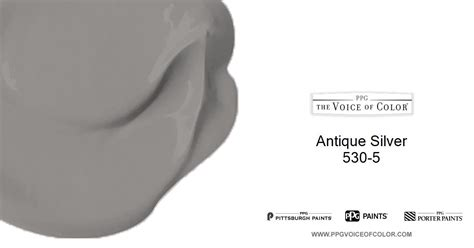 antique silver 530 5 voice of color ppg pittsburgh