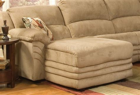 microfiber reclining sectional with chaise beige microfiber cozy sectional w reclining chaise