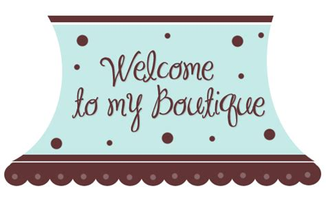 boutique templates free blue brown awing boutique ebay template free blue