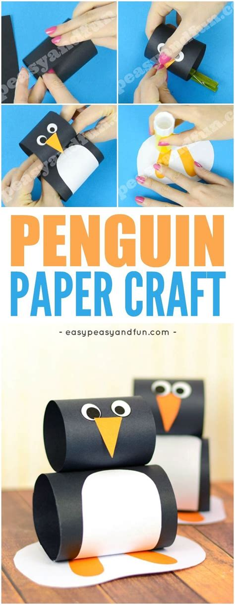 Penguin Paper Craft - best 25 penguin ideas on penguin craft