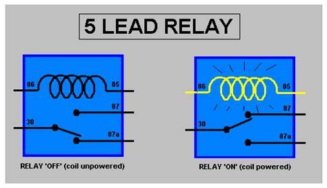 5 wire relay diagram 12 volt relay wiring diagram 5 pole