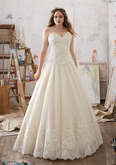 Wedding Plus Size Gowns by Julietta Collection Plus Size Wedding Dresses Morilee