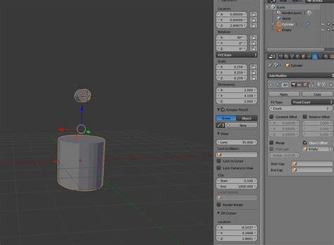 blender 3d array empty plain axes rotation by array modifier rotation problem blender stack exchange