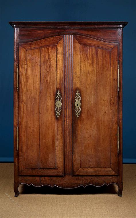 Armoire Or Wardrobe 19th C Oak Armoire Or Wardrobe C 1800 Antiques Atlas
