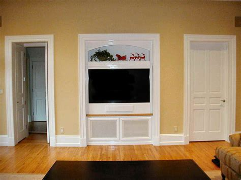 built cabinets: built in wall simple tv cabinets custom built flat screens tv cabinets