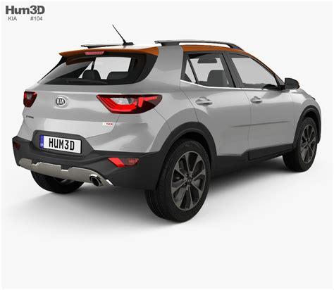 kia model kia stonic 2018 3d model vehicles on hum3d