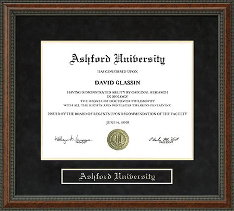 Iowa Mba Certificate by Ashford Diploma Frame Everything Graduation