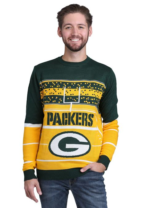 cowboys light up sweater green bay packers stadium light up ugly x mas sweater