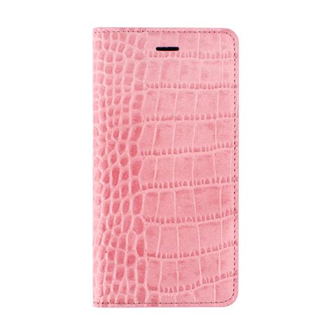 pink pattern cases gaze indi pink croc pattern leather case for iphone 6