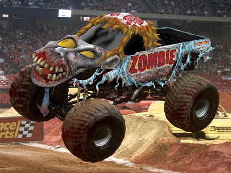 monster jam monster trucks monster truck zombie keep rollin rollin rollin