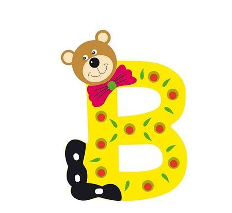 lettere alfabetiche lettre alphabet b 233 b 233 en bois ourson b