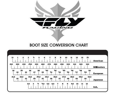 motocross boot sizing fly boot sizing fly sandals