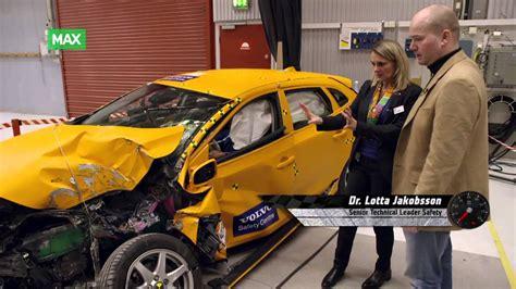 volvo center crash test p 229 volvo safety center