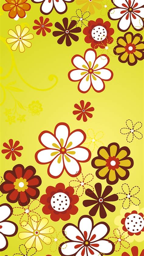 flower pattern wallpaper for iphone floral pattern background the iphone wallpapers