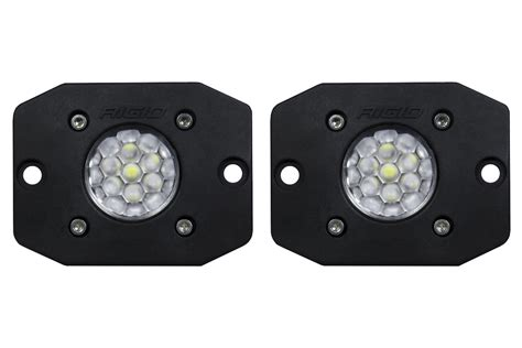 rigid industries backup light kit rigid industries 20641 ignite flush mount led backup light