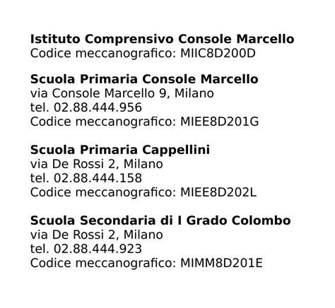 console marcello istituto comprensivo console marcello email miic8d200d