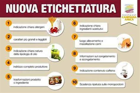 legge etichettatura alimenti etichettatura prodotti alimentari linea libera