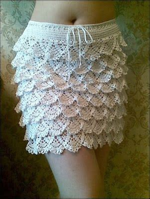 imagenes de short tejido a ganchillo crochet ganchillo patrones graficos falda a crochet