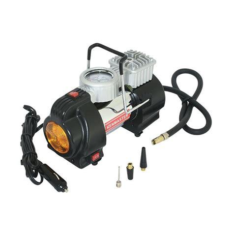 Mini Compresor Air Untuk Mobil Dan Motor jual kenmaster km 001b mini air compressor harga kualitas terjamin blibli