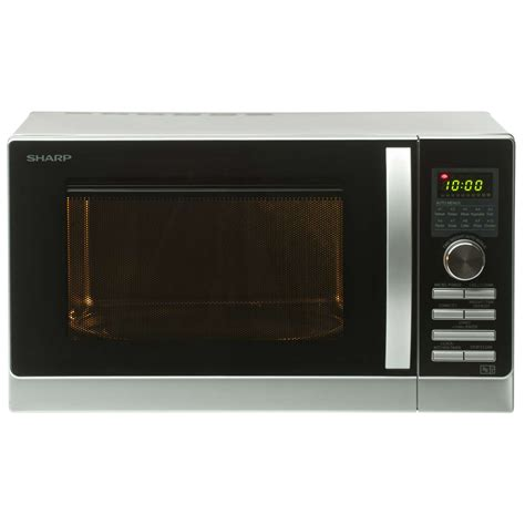 Microwave Sharp 25 Liter Grill Panggang 1000 Watt R728 K In 1 sharp r843slm 25 litre 900w grill combination microwave oven in silver ebay