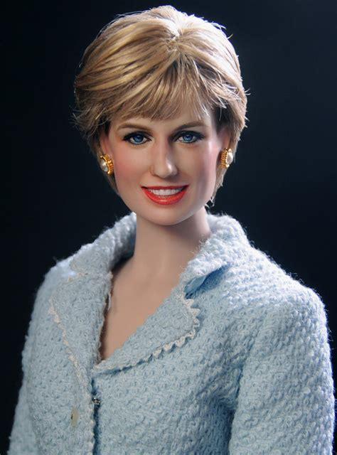 diana spencer ooak franklin mint princess di diana spencer doll repaint by noel ebay