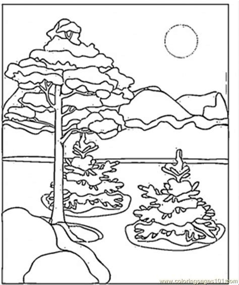coloring pages winter scenes printable winter scenes coloring pages az coloring pages