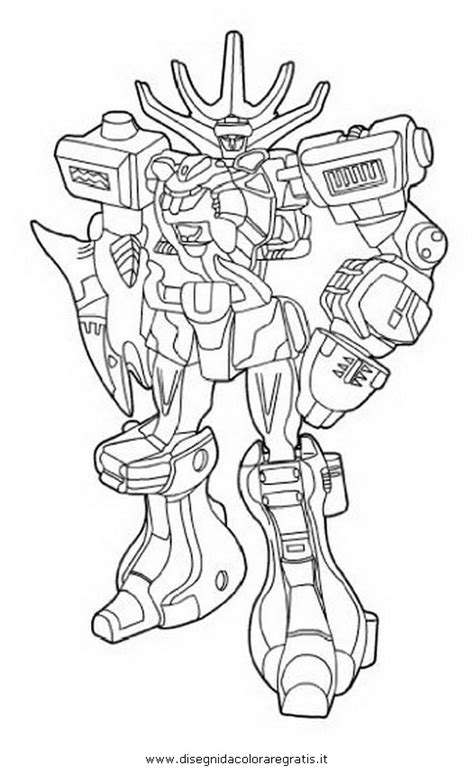power rangers zords coloring pages