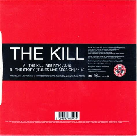 testo the kill coversandlyrics the kill single 30